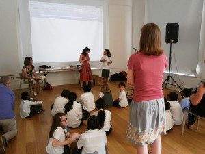CLPE workshop with Julia Donaldson