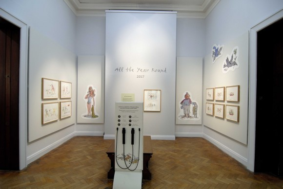 Quentin Blake at Lady Lever Gallery