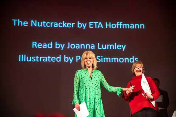 Joanna Lumley and Posy Simmonds (c) Paul Grover