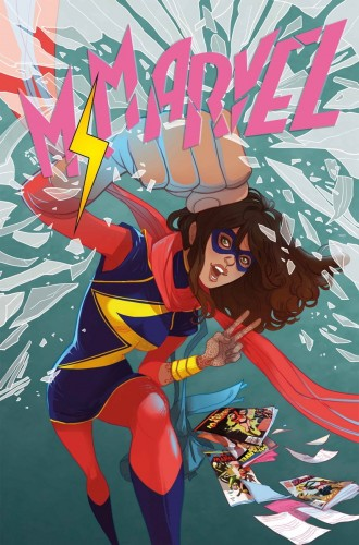 Ms Marvel written by G. Willow Wilson