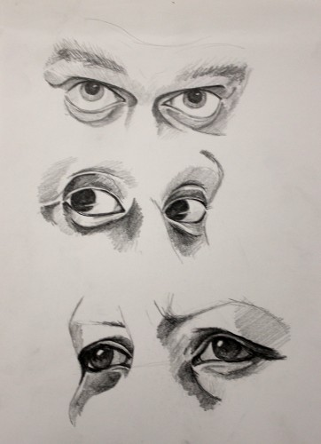 Eyes study by Anastasia Marsh