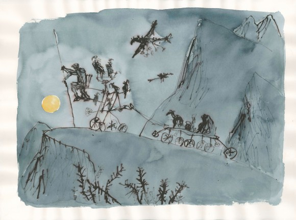 Moonlight Travellers 3 © Quentin Blake (1)