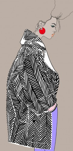 Montana - fashion illustration 1