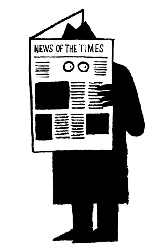 Jean Jullien, News of the times