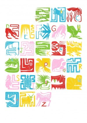 Illuminated Alphabet © Emma Reith (1)