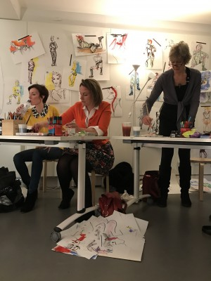 Fashion Drawing and the Muse, a masterclass with Sue Dray