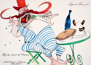 Orpheus in the Underworld - costume design -® Gerald Scarfe