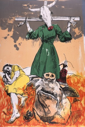 Scarecrow © Paula Rego courtesy of Marlborough Fine Art