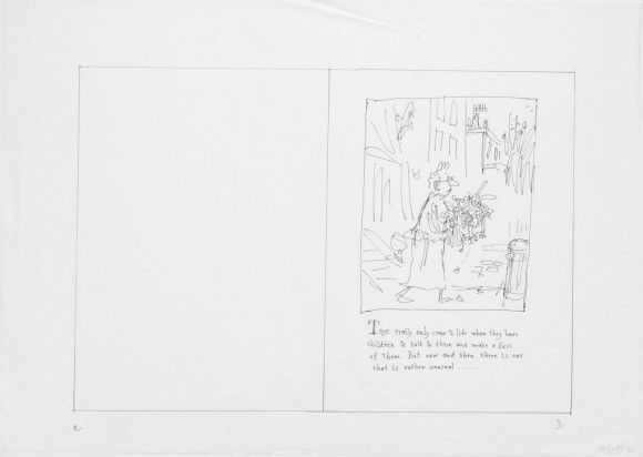 Storyboard for Clown © Quentin Blake 3