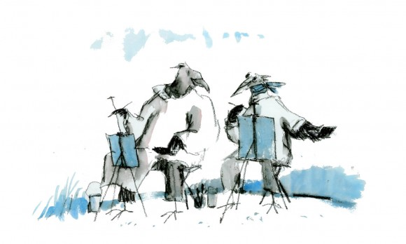 Comrades in Art © Quentin Blake
