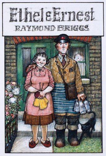 Detail of illustration for Ethel and Ernest book cover, 1998 © Raymond Briggs, published by Penguin Random House